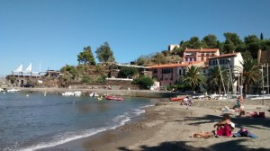 Collioure, just north of the Spanish border on the Mediterranean coast